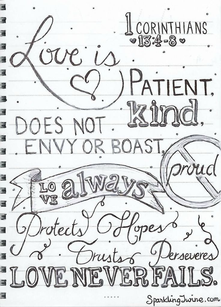 Love is patient coloring page Sparkling Twine A blog about crafts - best of coloring pages jesus loves you