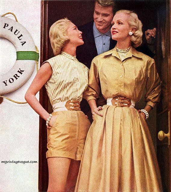 Everfast 1957 Vintage Vogue Vintage Fashion Vintage Fashion 1950s