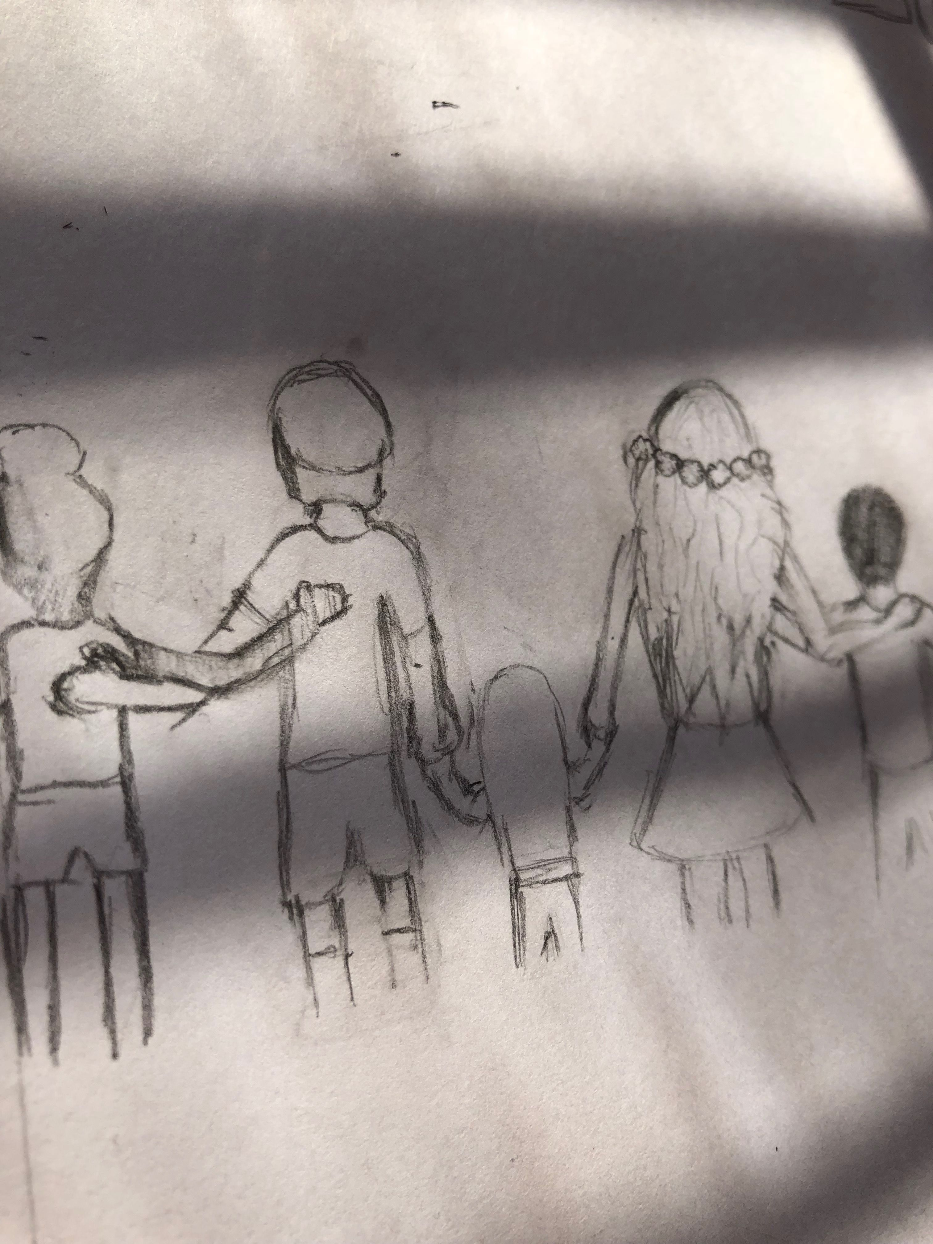 Kindness And Friendship Drawing Art Pinterest Drawings Art