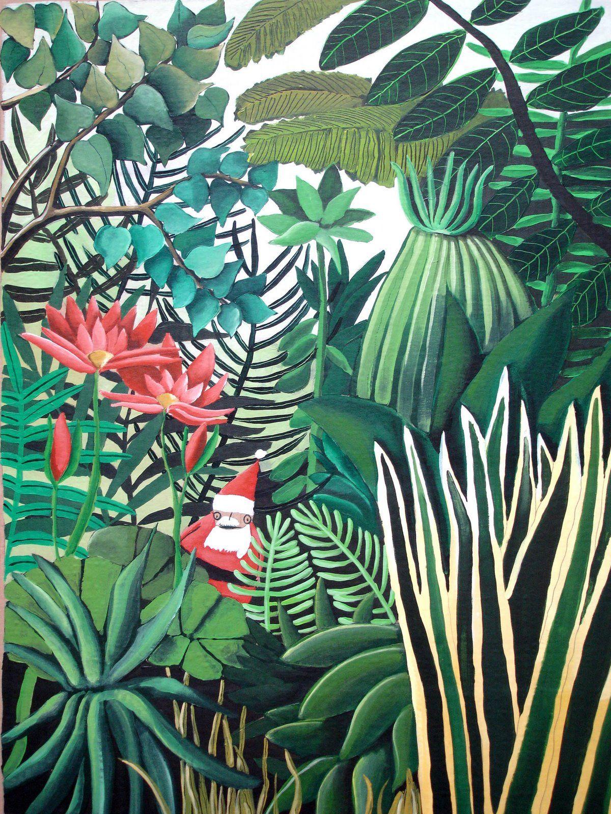 Douanier Rousseau Jpg 1200 1600 Henri Rousseau Art Tropical Peinture Historique