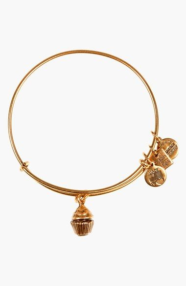 Alex and Ani Charity by Design Cupcake Bangle Bracelet