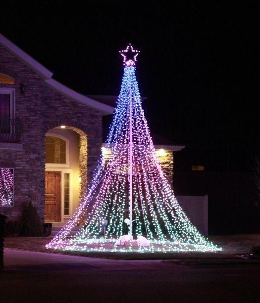 5 Best Inspiring Outdoor Christmas Decorations Lights Ideas Outdoor Christmas Decorations Lights Decorating With Christmas Lights Outdoor Christmas Lights