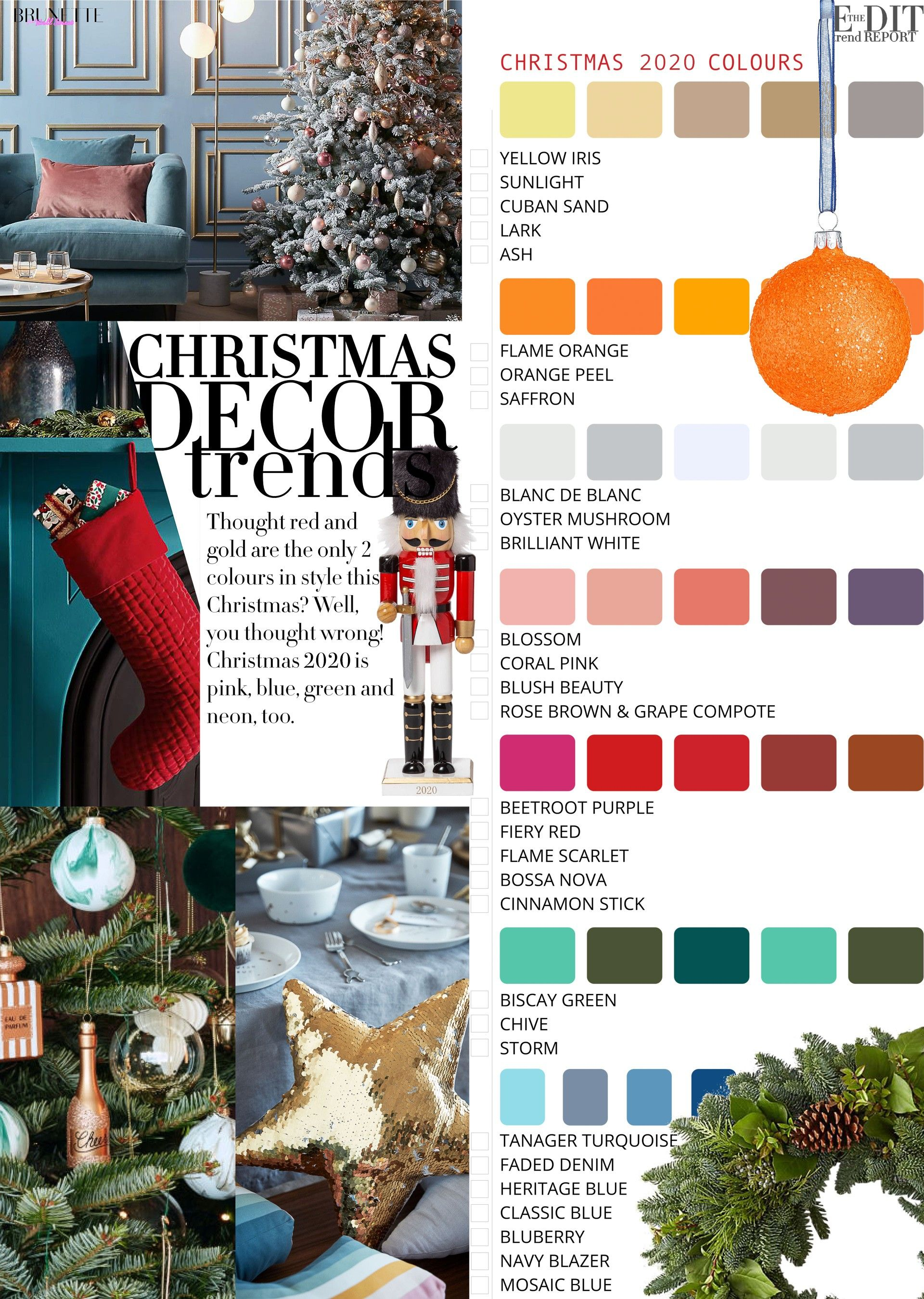 Home For Christmas 2020 How to Decorate Home for Christmas 2020? | Brunette from Wall
