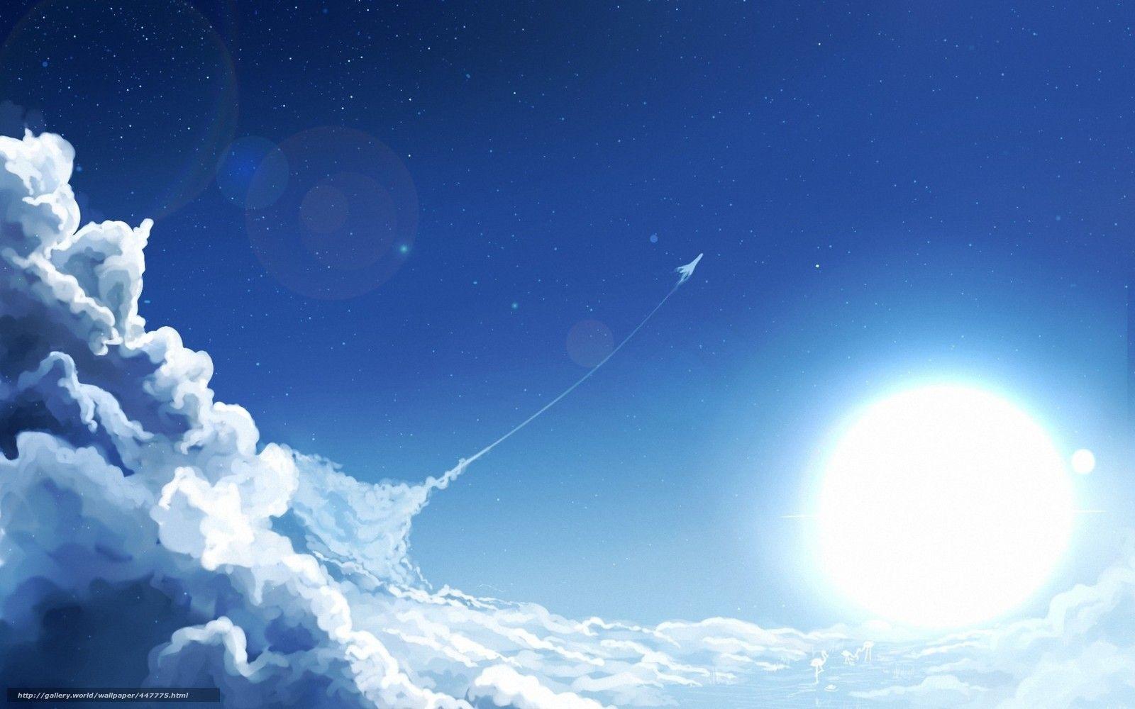 Samolet Nad Oblakami Zakat Vid Iz Samoleta 23 Tys Izobrazhenij
