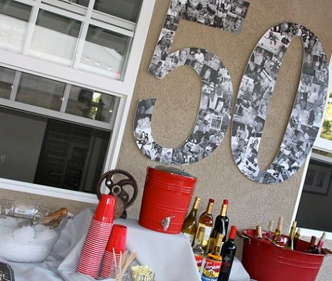 50 cumpleanos hombre ideas fiestas pinterest - Decoracion 50 cumpleanos ...
