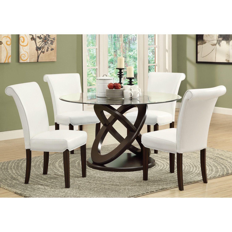 Monarch specialties inc dining table reviews wayfair for Wayfair comedores