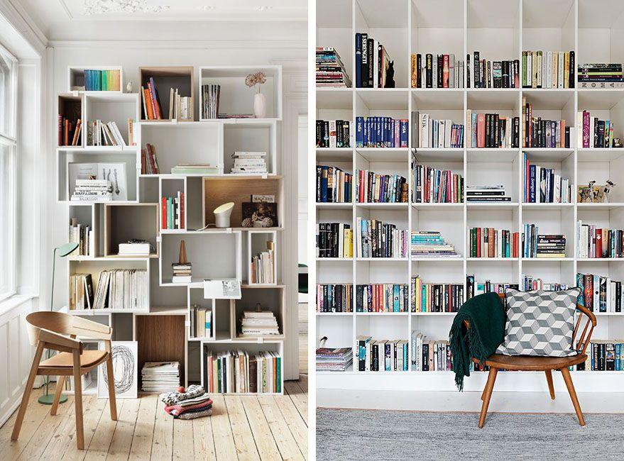 Libros en orden estanter as e ideas de almacenaje come Estanterias para libros