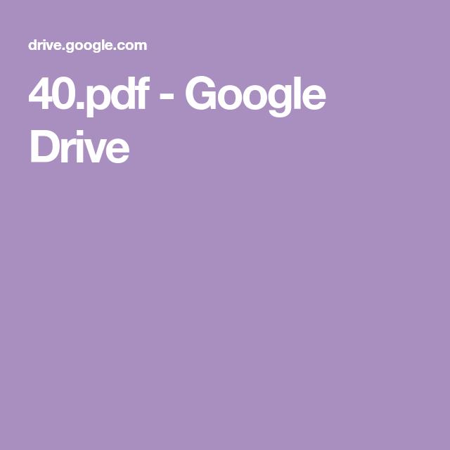 40.pdf - Google Drive | Pdf books reading Books free ...
