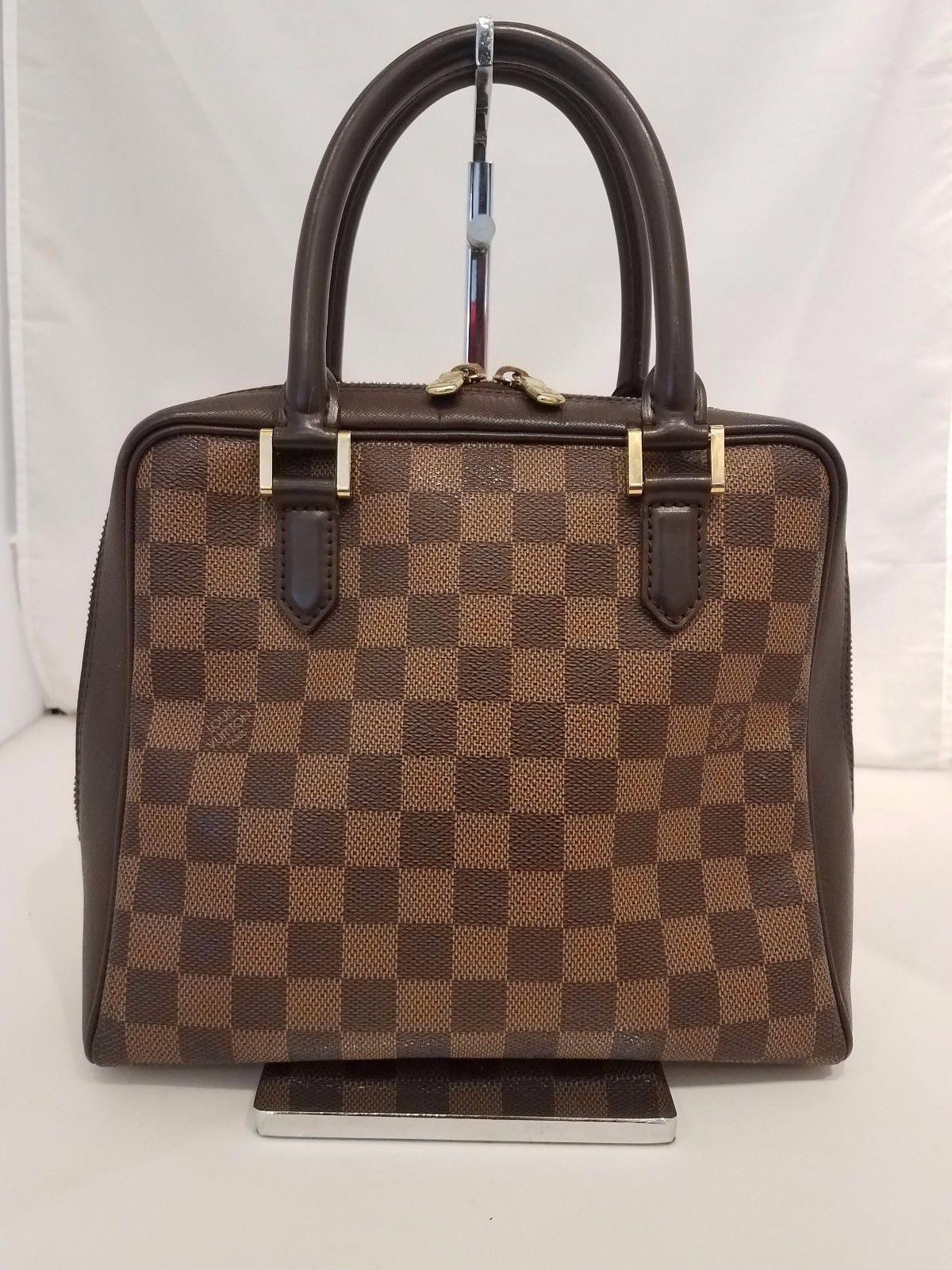 Louis Vuitton Damier Ebene Canvas Brera Handbag 514 0