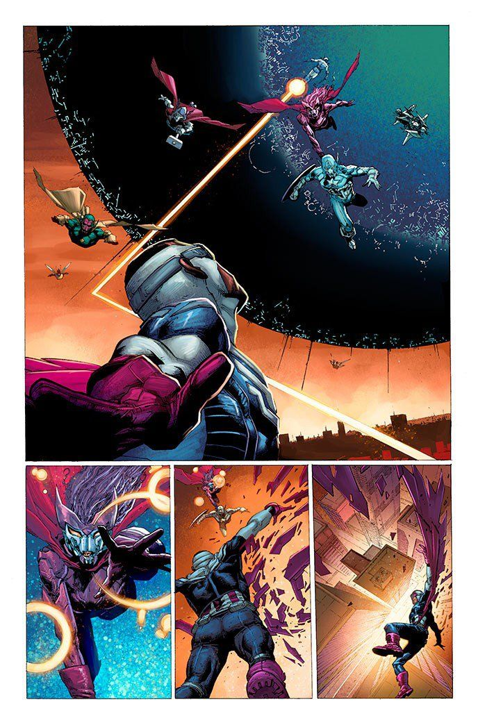 Avengers: Rage Of Ultron - Page 2