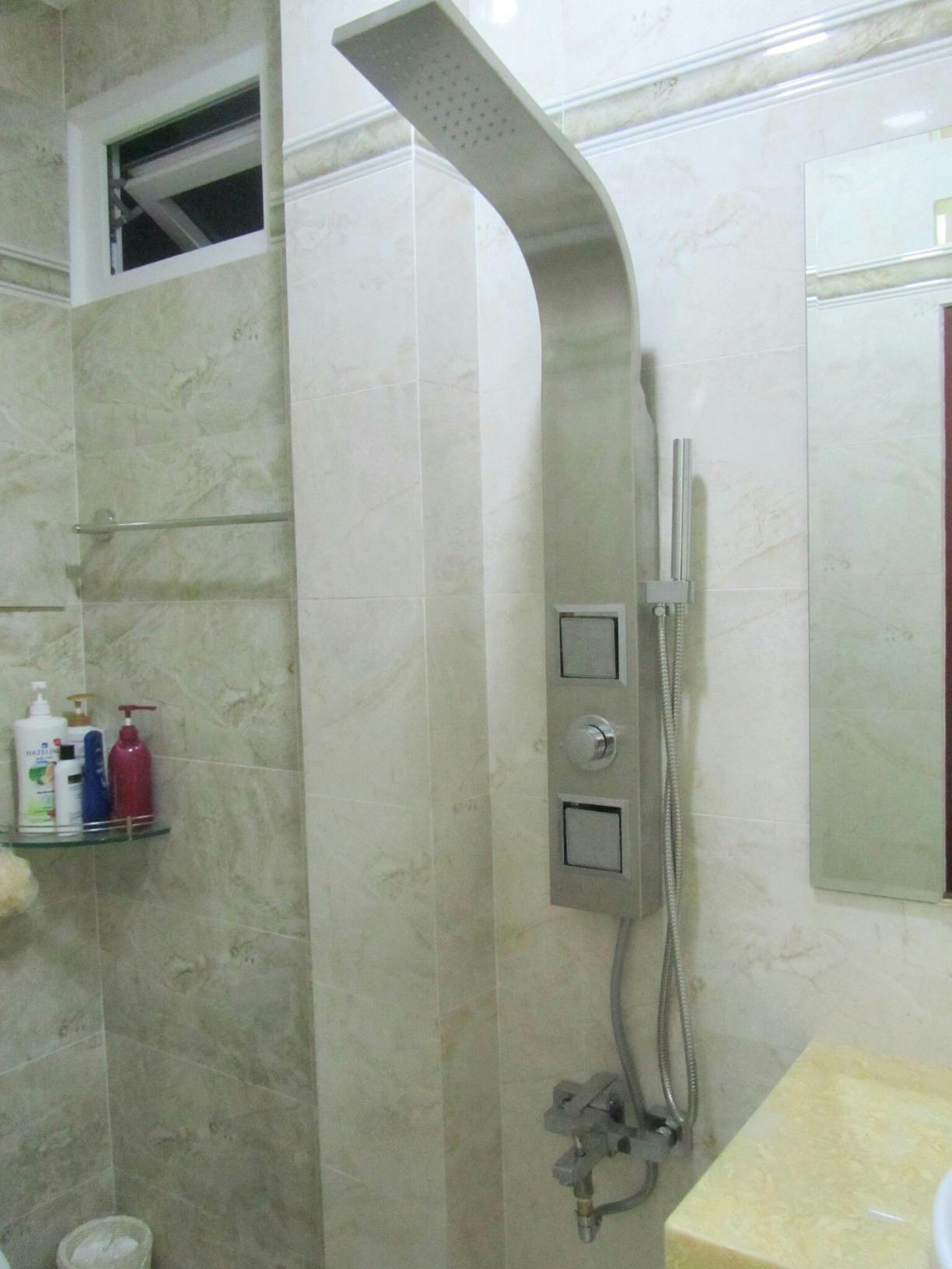 the akdy az9000 shower panel provides a spalike
