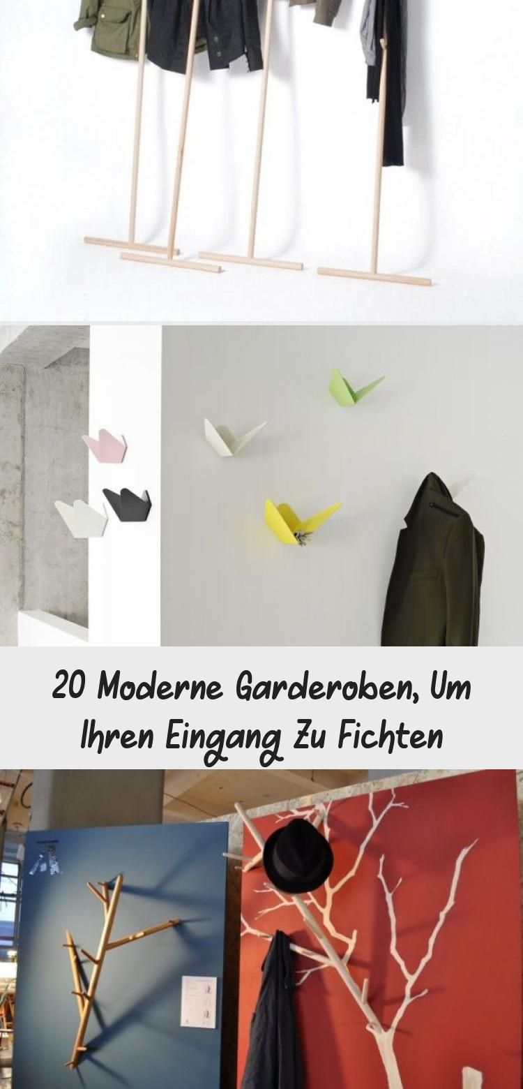 20 Moderne Garderoben Um Ihren Eingang Zu Fichten Kleiderhaken