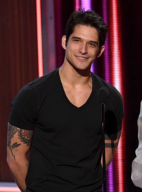 Actor Tyler Posey speaks onstage during the People's Choice Awards 2017 at Microsoft Theater on January 18 2017 in Los Angeles California