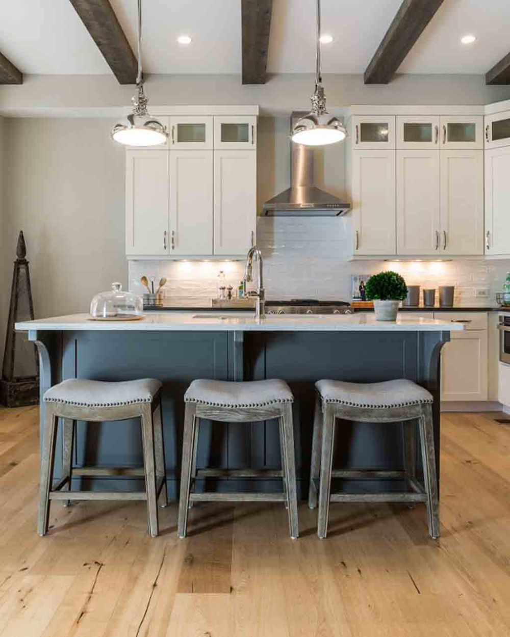 dover white sw 6385 review by laura rugh white farmhouse kitchens hardwood floors in kitchen on farmhouse kitchen wall colors id=12193