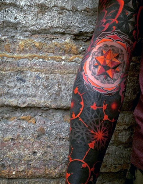 b0e220abf65c1 Discover top the 80 best abstract tattoos for men with cooler and crazier  designs than ever. Transcend form and regular objects to artistic  masterpieces.