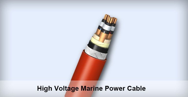 High Voltage Marine Power Cable Supplier Grand Ocean Marine Power Cable High Voltage Cable
