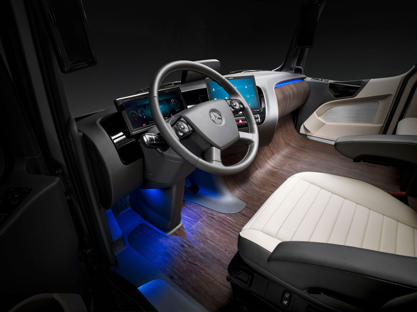 Mercedes Benz Future Truck 2025 Concept Interior With Images