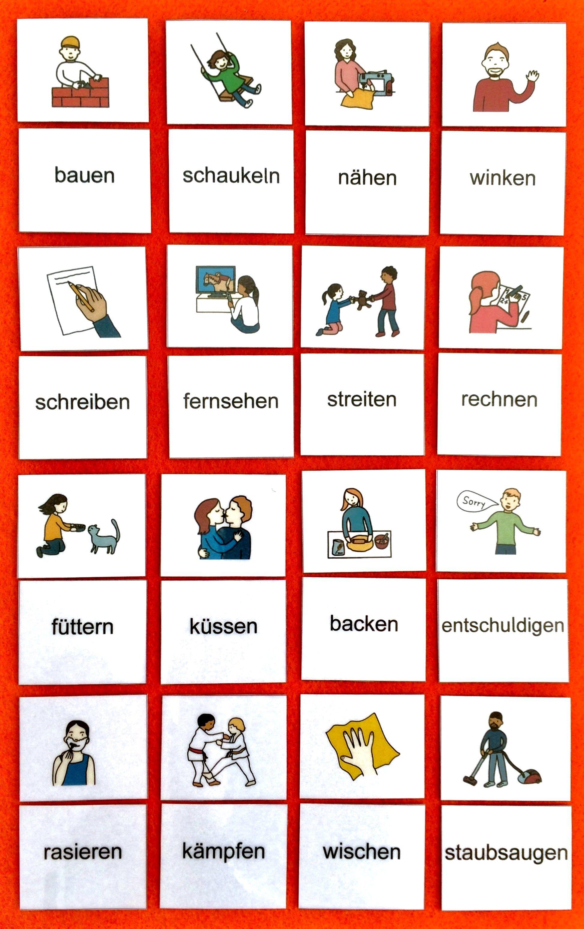 Wort Bild Karten Zum Lesen Lernen Dieses Und Viele Weitere