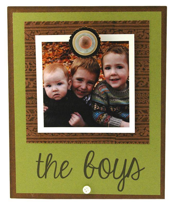 The Boys Insta Magnet Frame Personalized Frame Instagram Frame