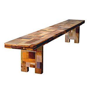 Scrapwood Bench