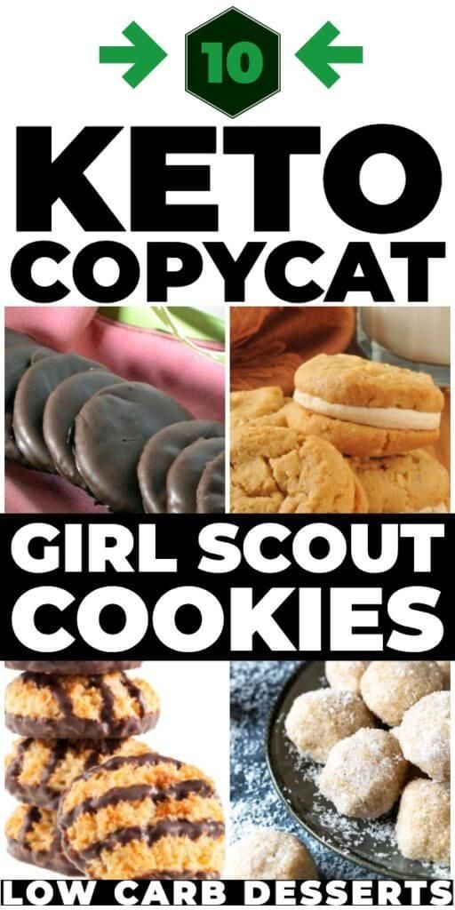 Keto Girl Scout Cookies! 10 Low Carb Girl Scout Cookie Recipes