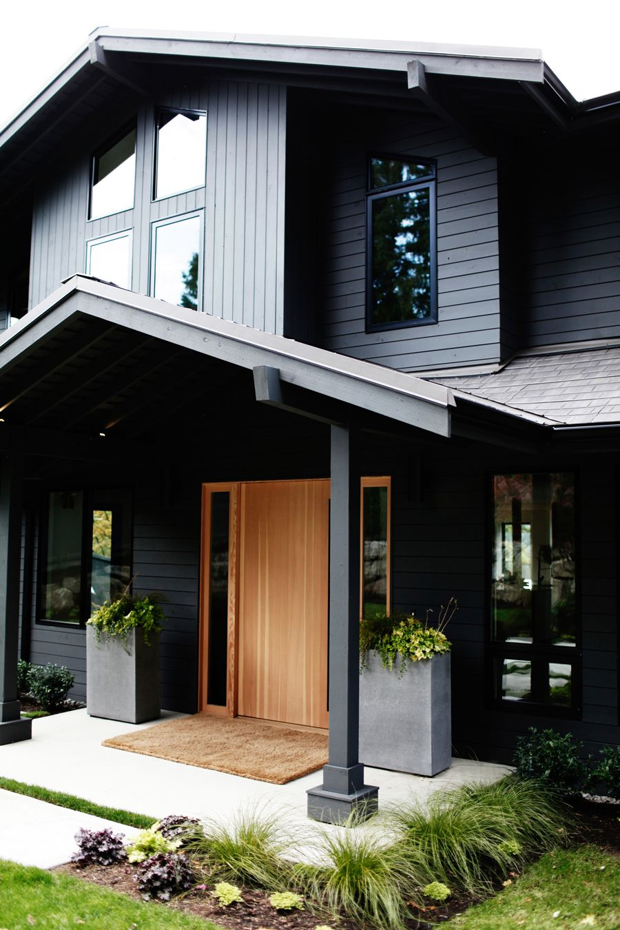 425 Magazine Idea House | Oregon Tile & Marble | glass steel house ...