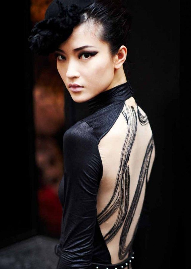 High style asian models
