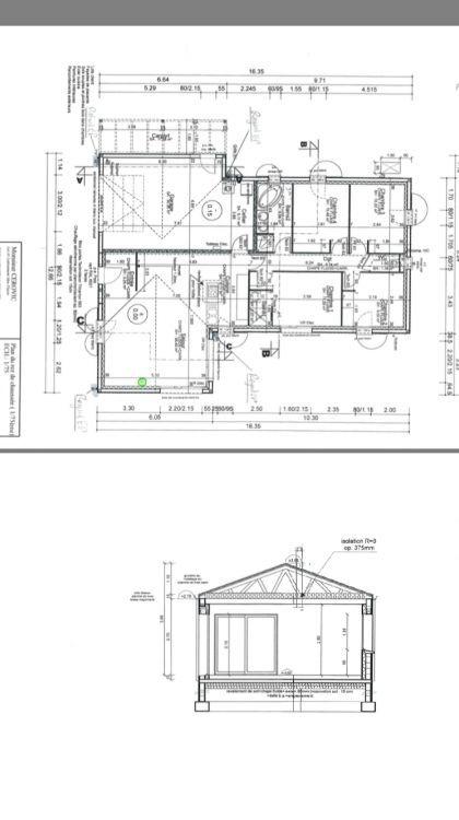 Maison En Forme De T voici le plan de notre maison en forme de t | sra | pinterest