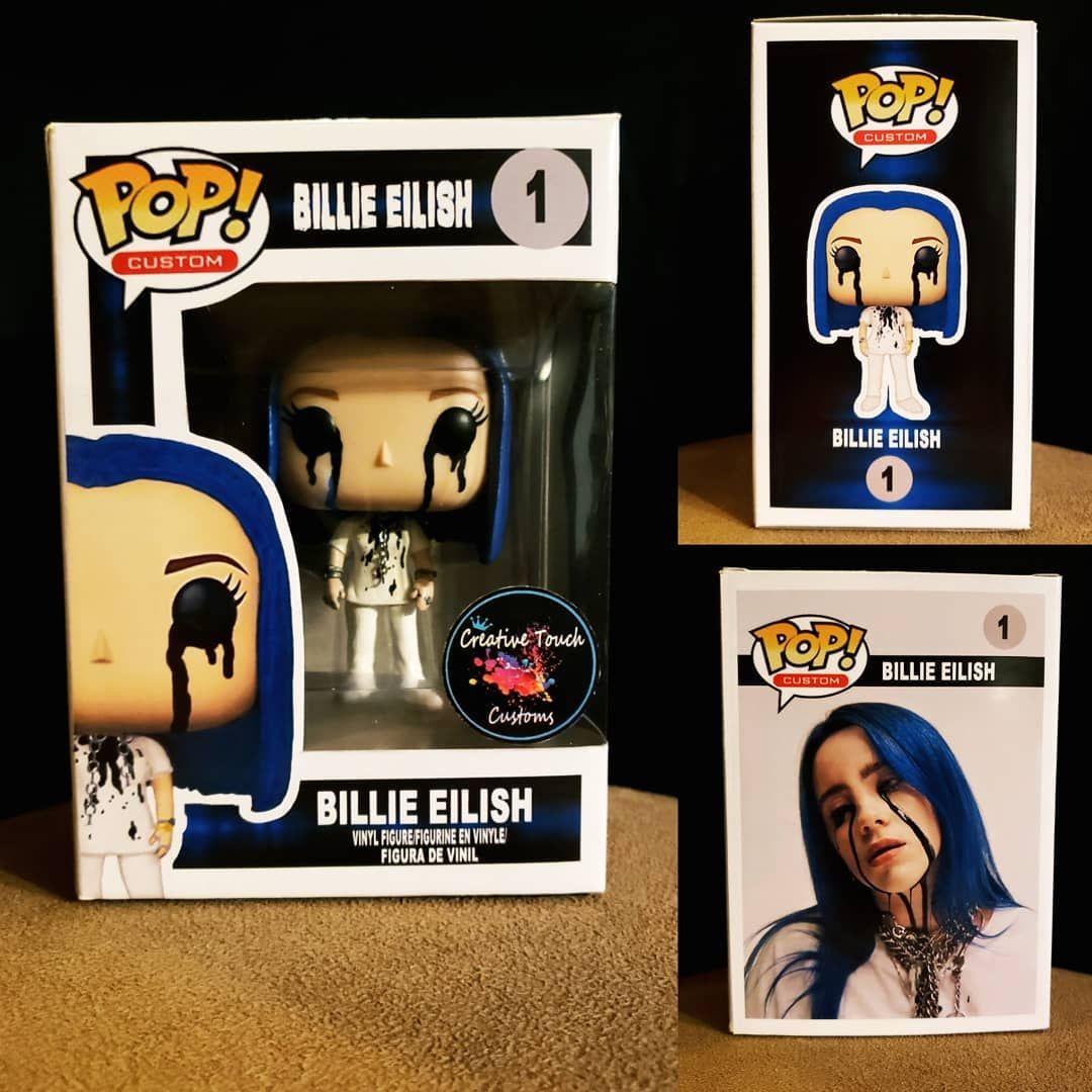 Billie Eilish Funko Pop Figure Funko Pop Anime Funko Pop Batman Custom Funko Pop