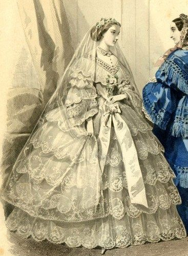 1855 wedding ensemble
