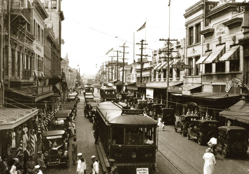 photo essay everyday life in th century honolulu hawaii oahu one of my favorite pictorial essays of honolulu dating back to the early 1900 s