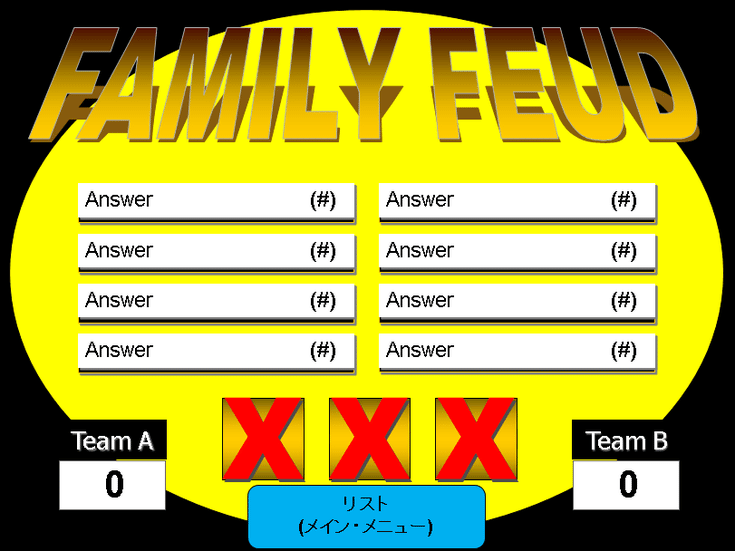 make your own family feud game with these free templates | family, Modern powerpoint