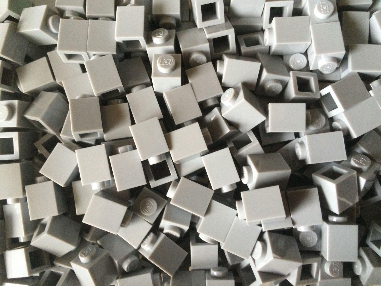 New Lego Part 3005 1x1 Pin Brick (20 Medium Stone Grey Pieces) https://t.co/jHGS5UHakR https://t.co/fVmH3lUutj