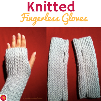 The Easiest Fingerless Gloves Mitts Youll Find Online Free