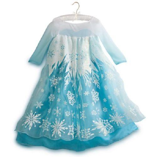 Disney Store Frozen Elsa Costume Sz 5 6 with Light Up Shoes   eBay  sc 1 st  Pinterest & Disney Store Frozen Elsa Costume Sz 5 6 with Light Up Shoes   eBay ...