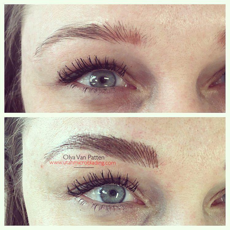 Utah Microblading Utah, Permanent makeup, Brows