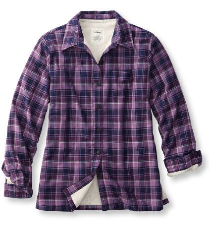 Fleece Lined Flannel Shirt: Corduroy and Flannel | Free