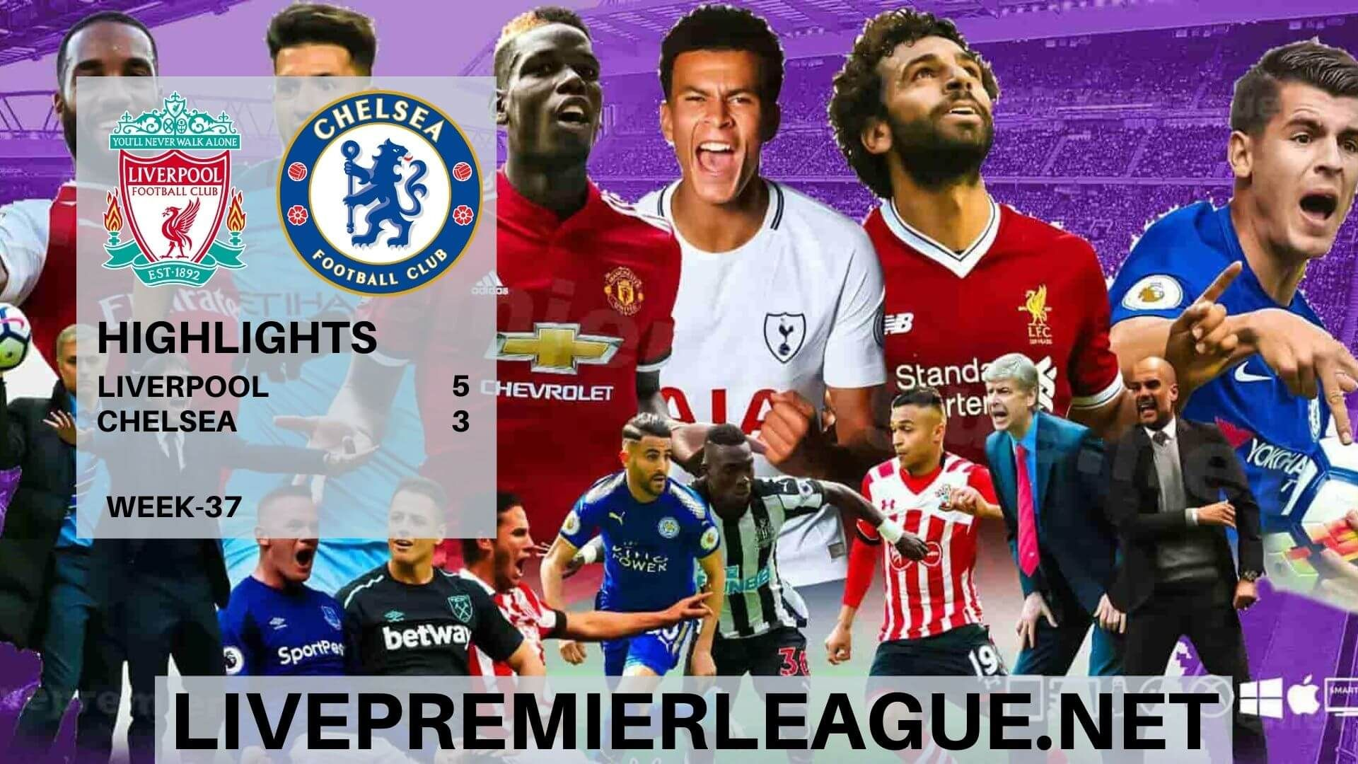 Liverpool Vs Chelsea Highlights English Premier League Week 37 On Thursday 23rd July 2020 At Anfield In 2020 English Premier League Norwich City Liverpool Vs Chelsea