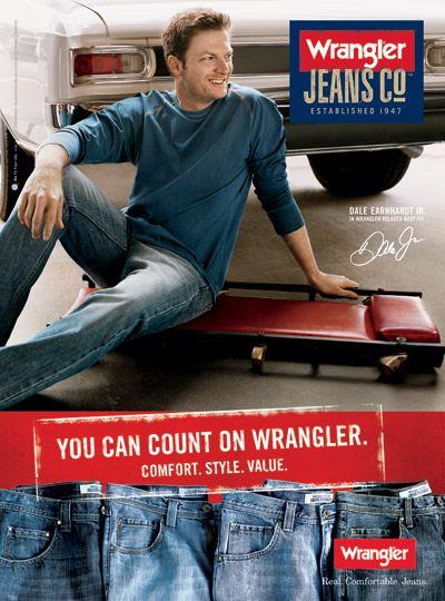 ed21fd01 Wrangler Jeans Co Ad   Brands We Love   Wrangler jeans, Denim ...