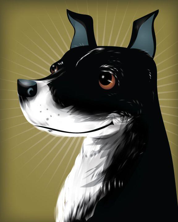 Chris Beetow - Illustrateur - Portraits 'Fantaisistes' d'Animaux de Compagnie