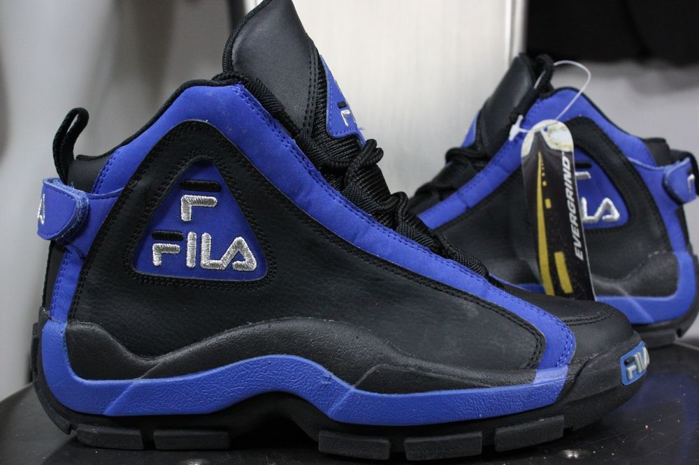 Grant Hill Blue Vintage Fila New Evergrind 5 Ii 90's Sneakers 5 XuPikZO