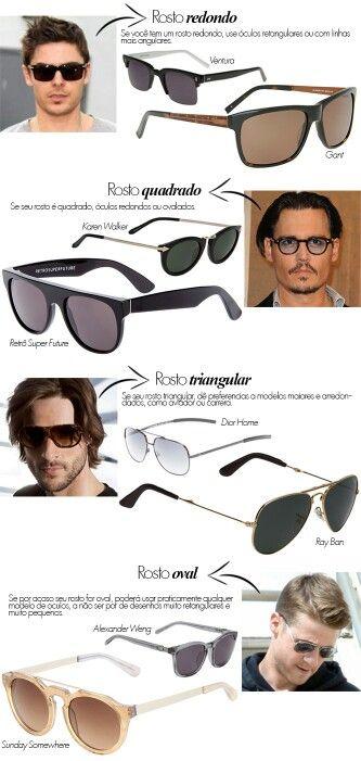 43a7c8a14ed88 Tipo de óculos para cada rosto