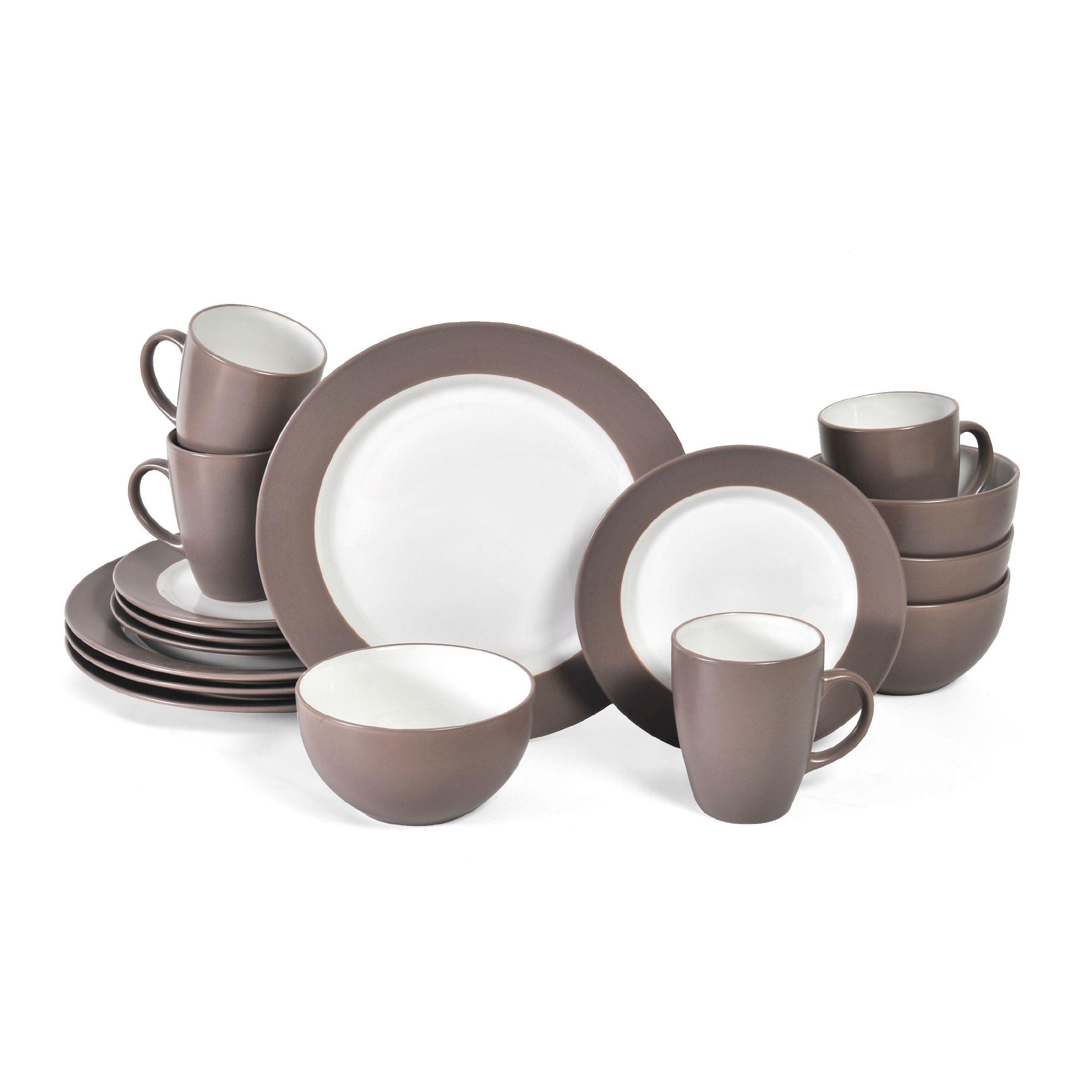 Pfaltzgraff Everyday Harmony Taupe Stoneware 16-piece Dinnerware Set (Service for 4) (  sc 1 st  Pinterest & Pfaltzgraff Everyday Harmony Taupe Stoneware 16-piece Dinnerware Set ...