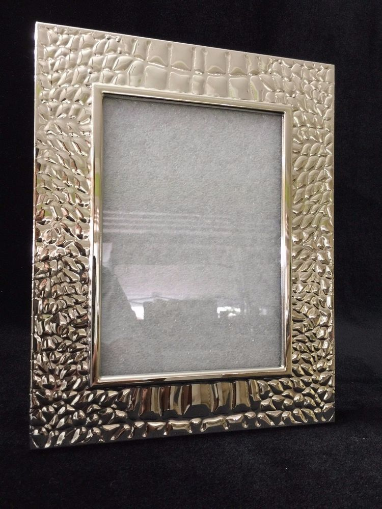 Ralph Lauren Silverplated Photo Frame 5 X 7 Image 9 X 10 1 2 Frame Ralphlauren Artdecostyle Frame 10 Frame Photo Frame