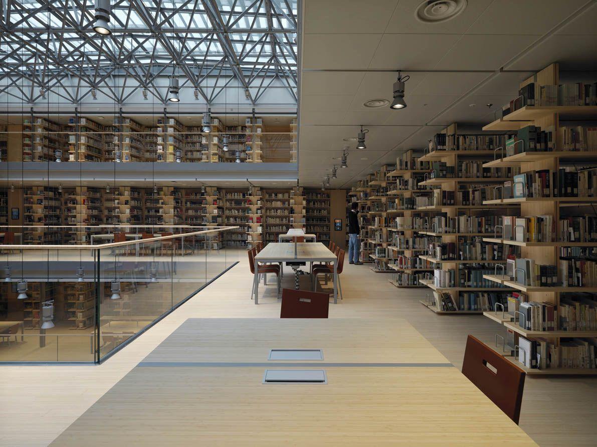 University library trento italy client castello sgr s - Interior design trento ...