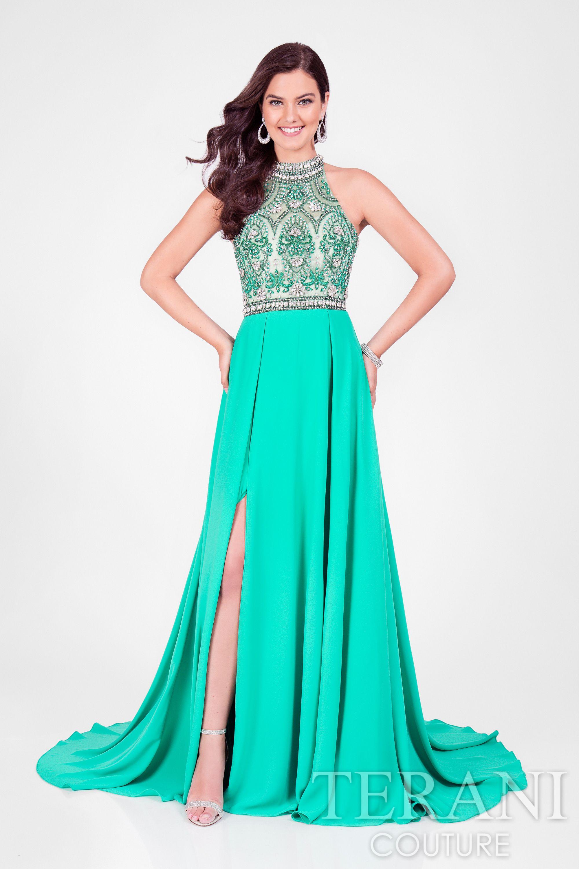 Terani couture in emerald terani pinterest terani couture