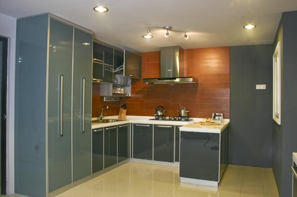 U shaped modular kitchen desig Wood work Pinterest Kitchens. Kichan Ka Dijain