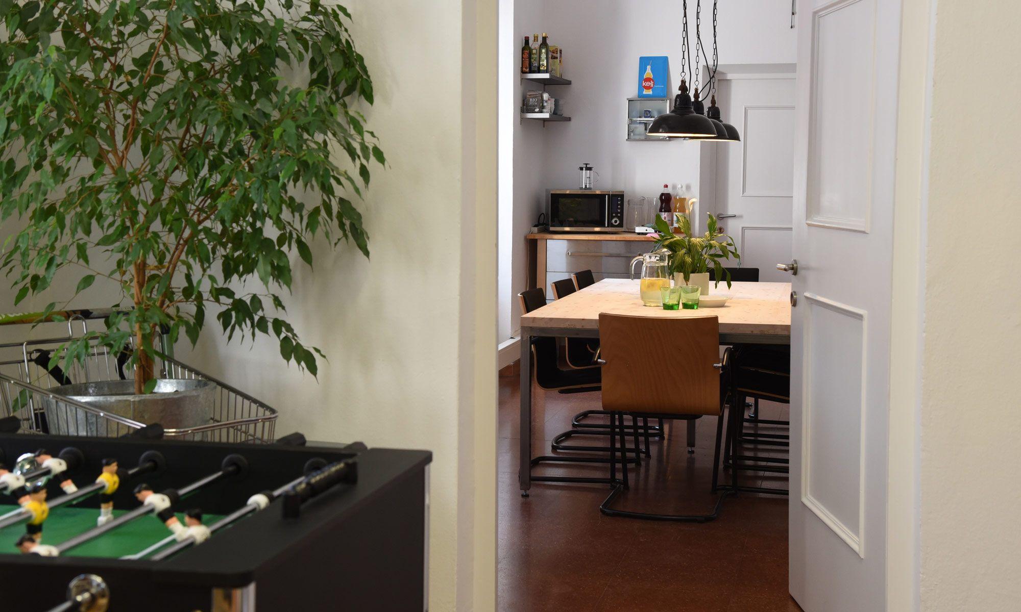 foxx_e Schreibtisch Doppelarbeitsplatz | COWORKING | Pinterest