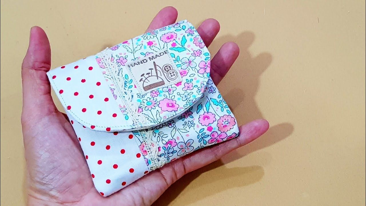 Photo of How to sew a small pouch | ❤Small wallet making❤