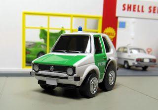 Choro Q Vw Golf Polizei Vw Golf Toy Car Golf